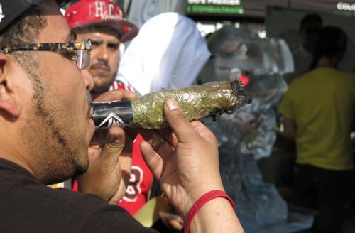 Smoking Massive Joint