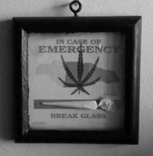 In case of emergency, break glass